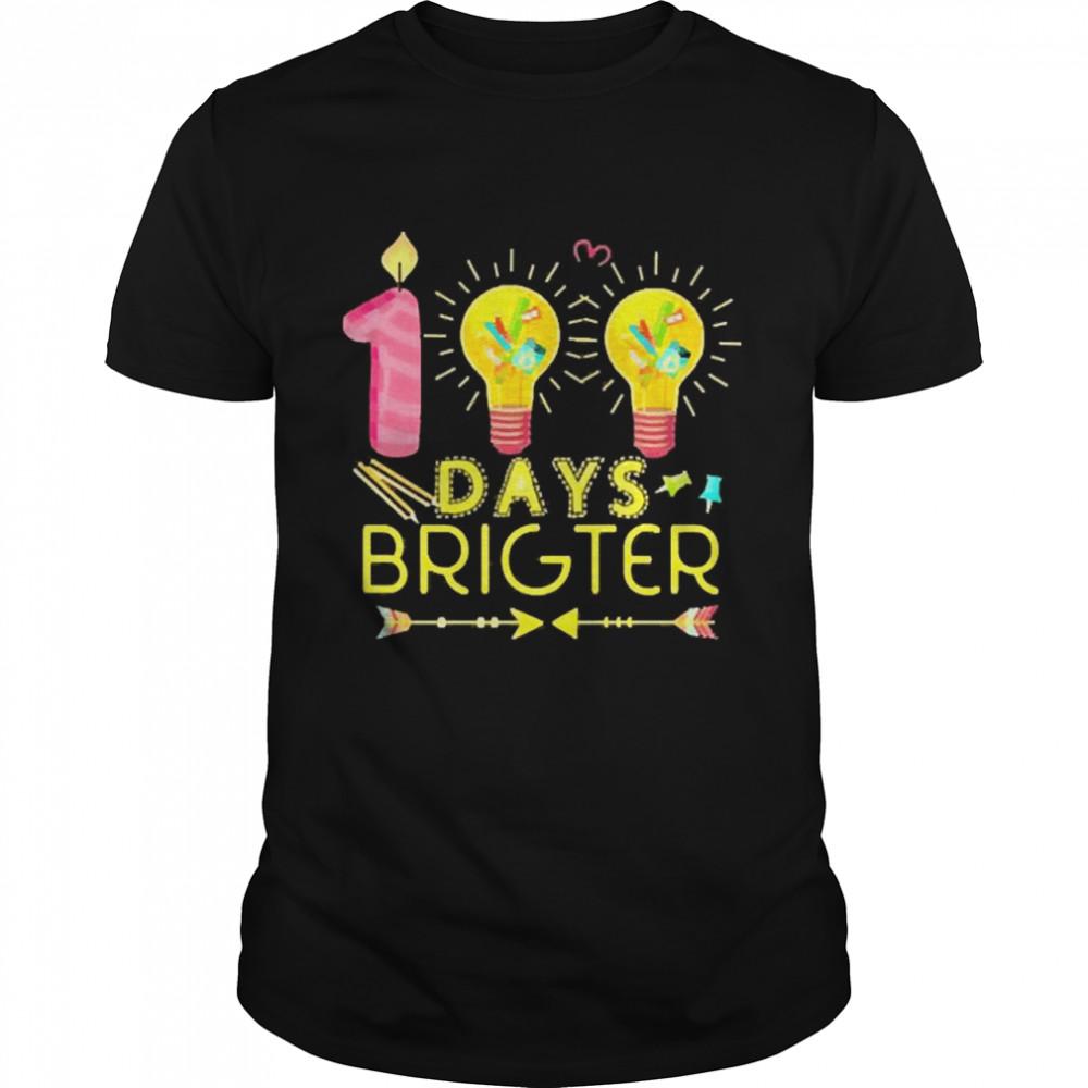 100 days brighter shirt Classic Men's