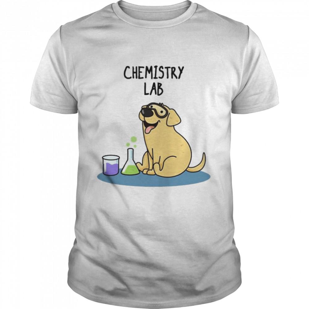 Chemistry lab dog shirt Classic Men's