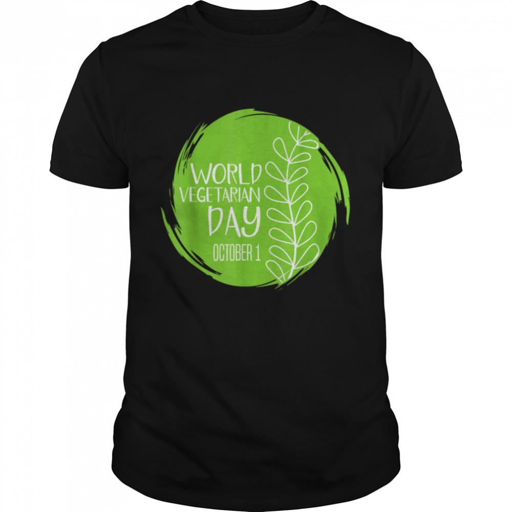 World Vegetarian Day October 1st Food Kale Love Save Animal shirt Classic Men's