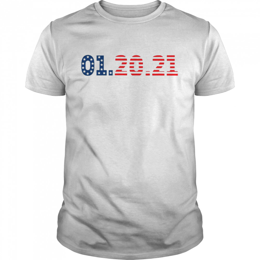 01 20 2021 Inauguration Day American Flag shirt Classic Men's