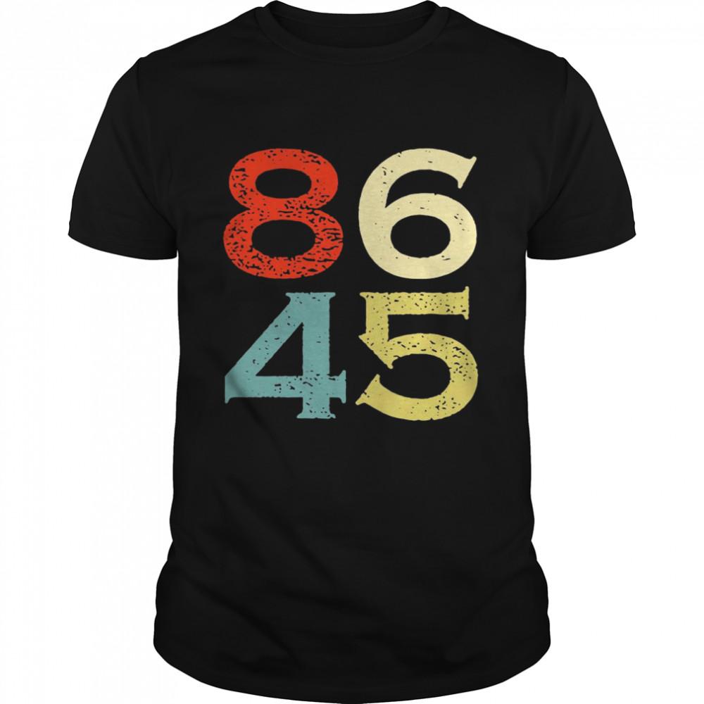 8645 President Anti Trump Impeach Trump shirt Classic Men's