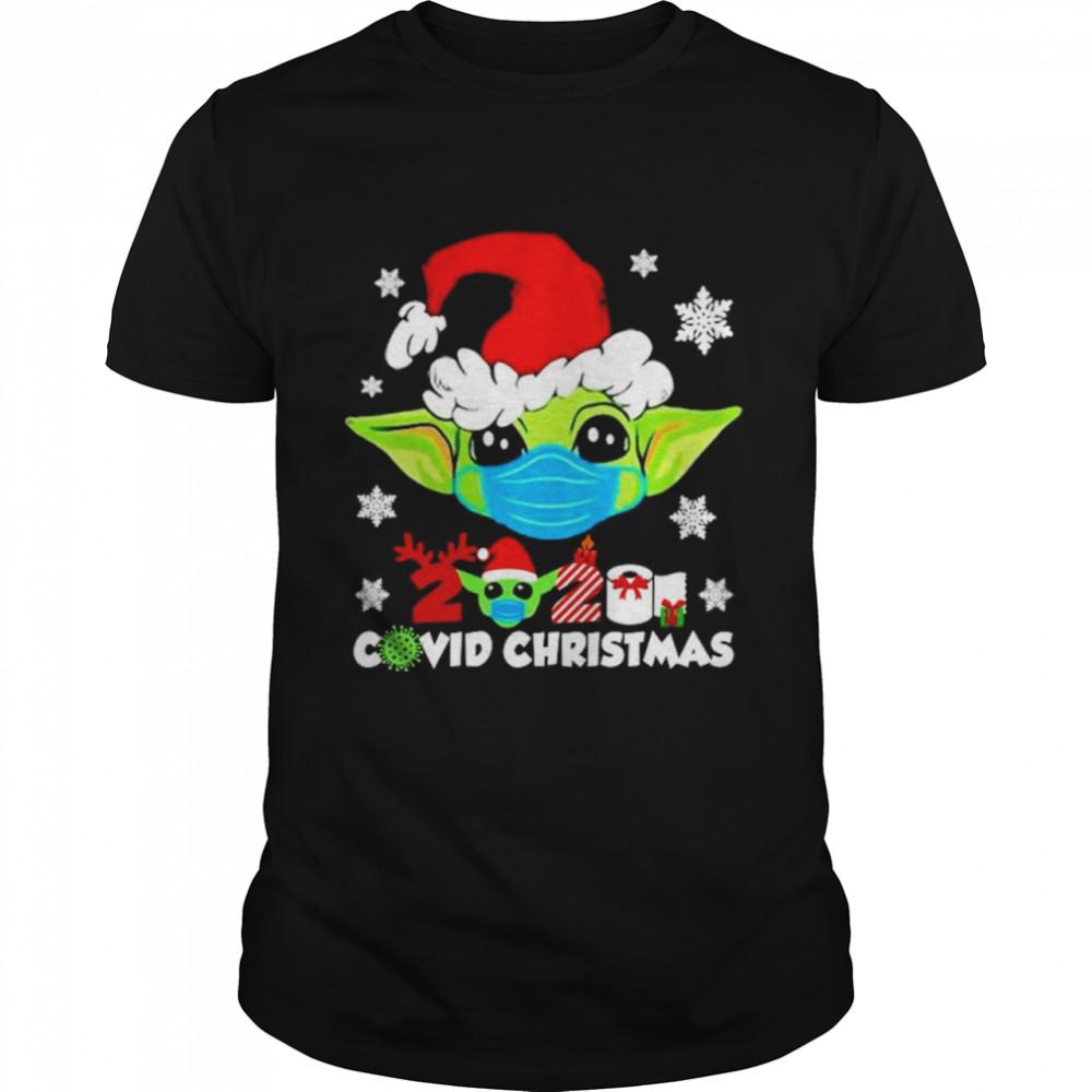 Baby Yoda 2020 Covid Christmas shirt Classic Men's