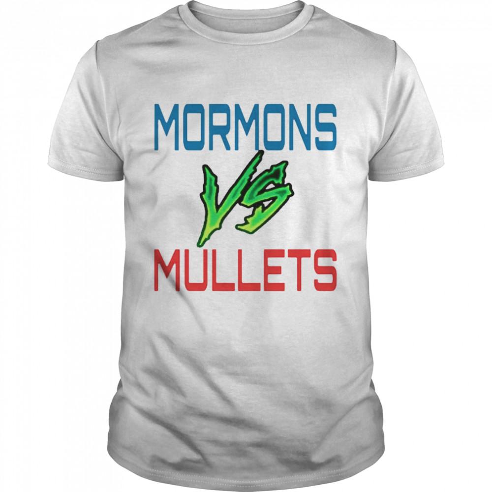 Mormons Vs Mullets shirt Classic Men's