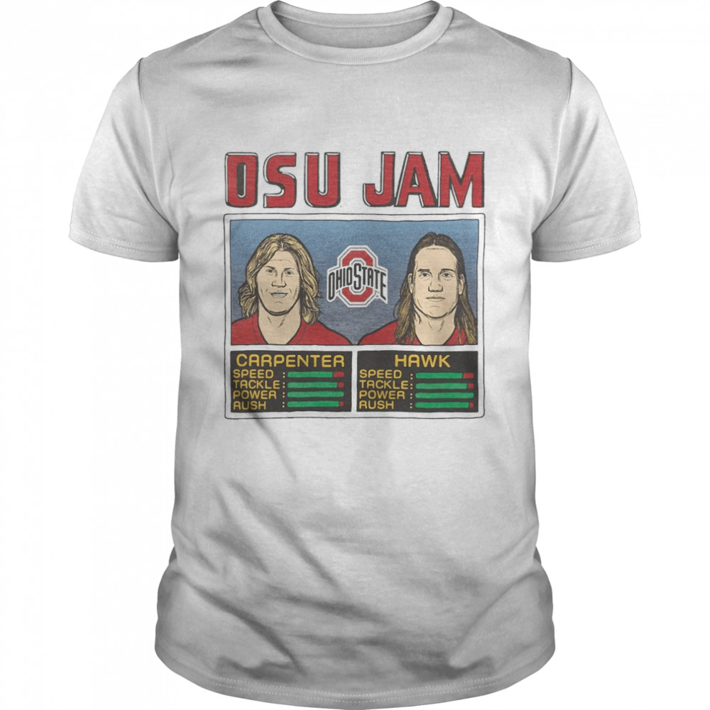 Osu Jam Ohio State Carpenter Hawk shirt Classic Men's