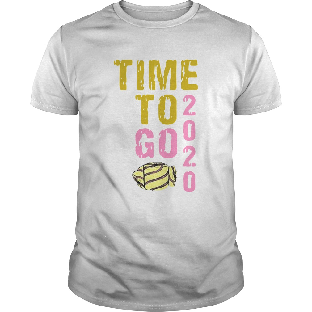 Time To Go 2020 Goodbye 2020 Hello 2021 Gold And Pink Toilet Paper shirt Classic Men's