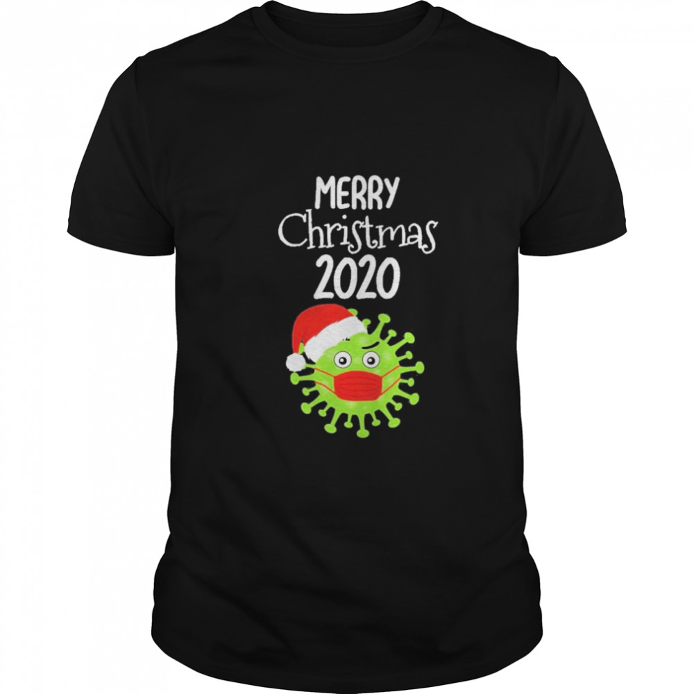 Merry Christmas 2020 Quarantine Christmas Viruscorona shirt Classic Men's