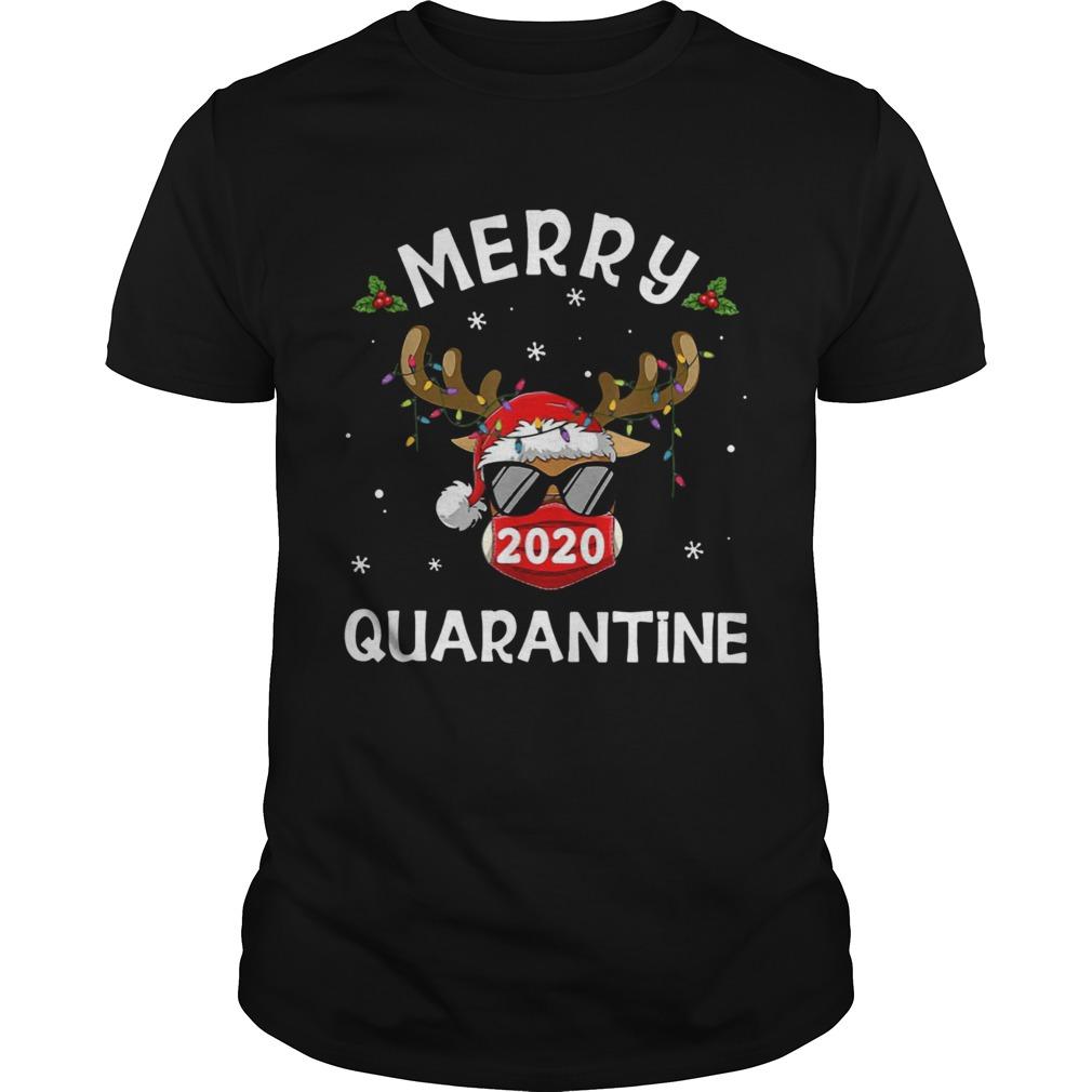2020 Merry Quarantine Christmas shirt Classic Men's