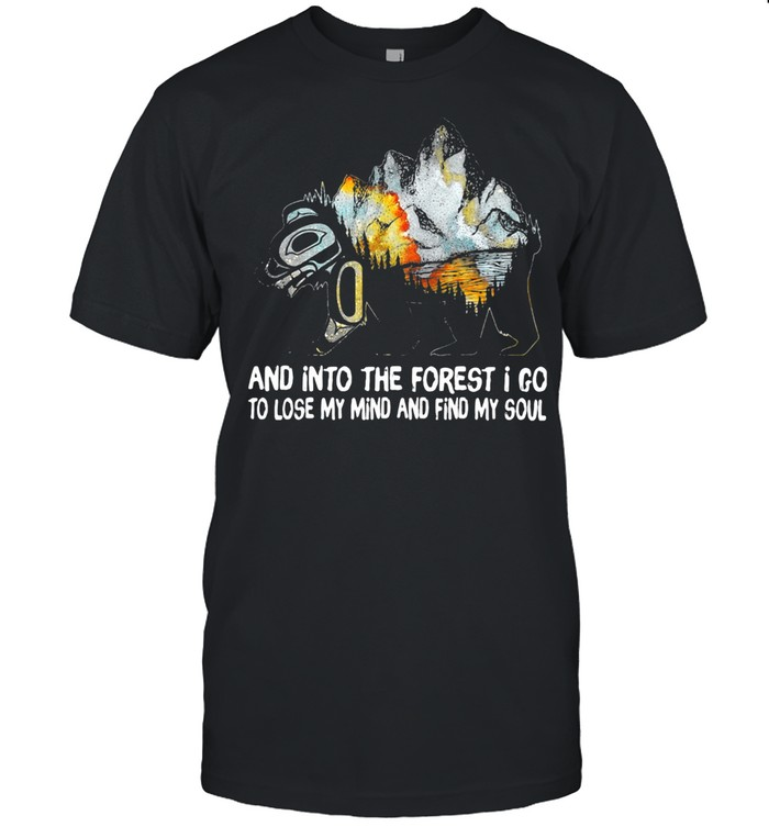 And Into The Forest I Go To Lose My Mind And Find My Soul THe Mountain shirt Classic Men's T-shirt