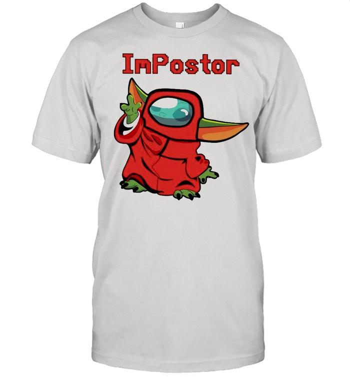 Baby Yoda Among Us Impostor shirt Classic Men's T-shirt