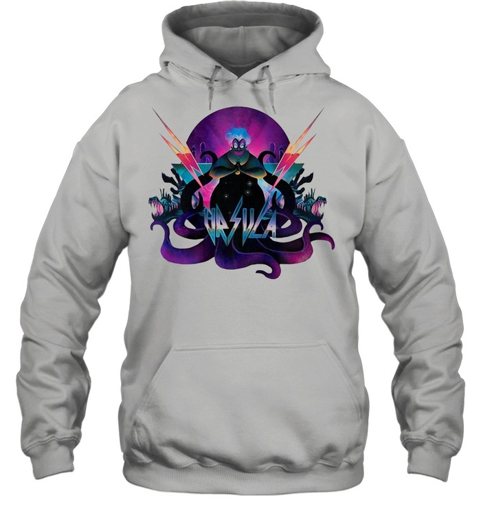 Disney Villains Ursula 90S Rock Band Neon shirt Unisex Hoodie