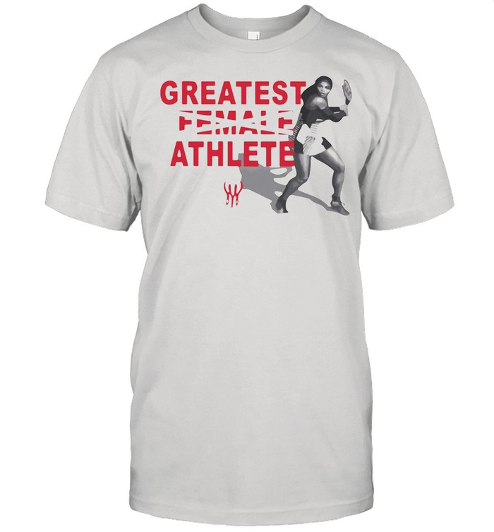 Serena Williams Greatest Female Athlete shirt Classic Men's T-shirt