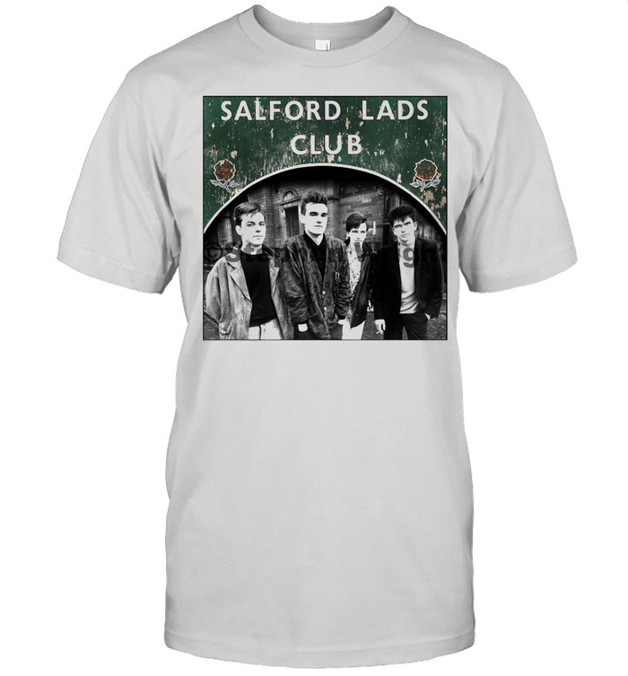 Smiths Salford Lads Club Original Square Print – The Queen Is Dead shirt Classic Men's T-shirt
