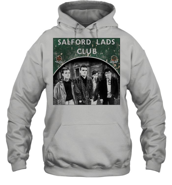 Smiths Salford Lads Club Original Square Print – The Queen Is Dead shirt Unisex Hoodie
