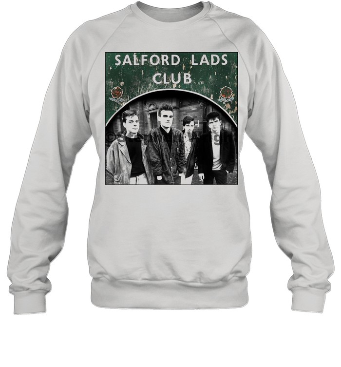 Smiths Salford Lads Club Original Square Print – The Queen Is Dead shirt Unisex Sweatshirt
