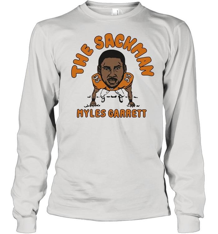 The Sackman Myles Garrett shirt Long Sleeved T-shirt