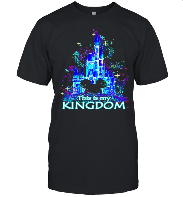 Mickey mouse Disney This is my Kingdom 2021 shirt Classic Men's T-shirt