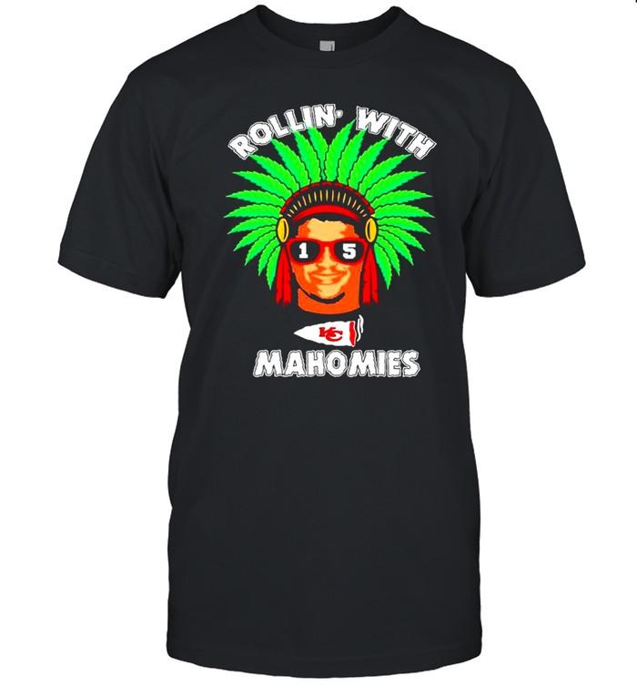 Rollin with Patrick Mahomes Kansas City Chiefs Mahomies shirt Classic Men's T-shirt
