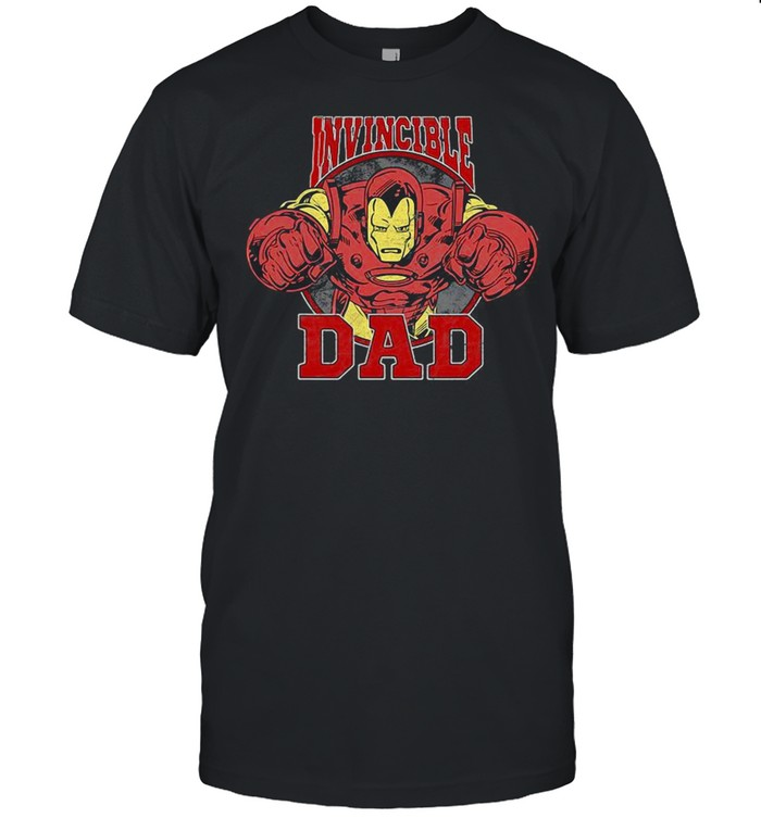 Marvel Iron Man Father's Day Invincible Dad shirt Classic Men's T-shirt