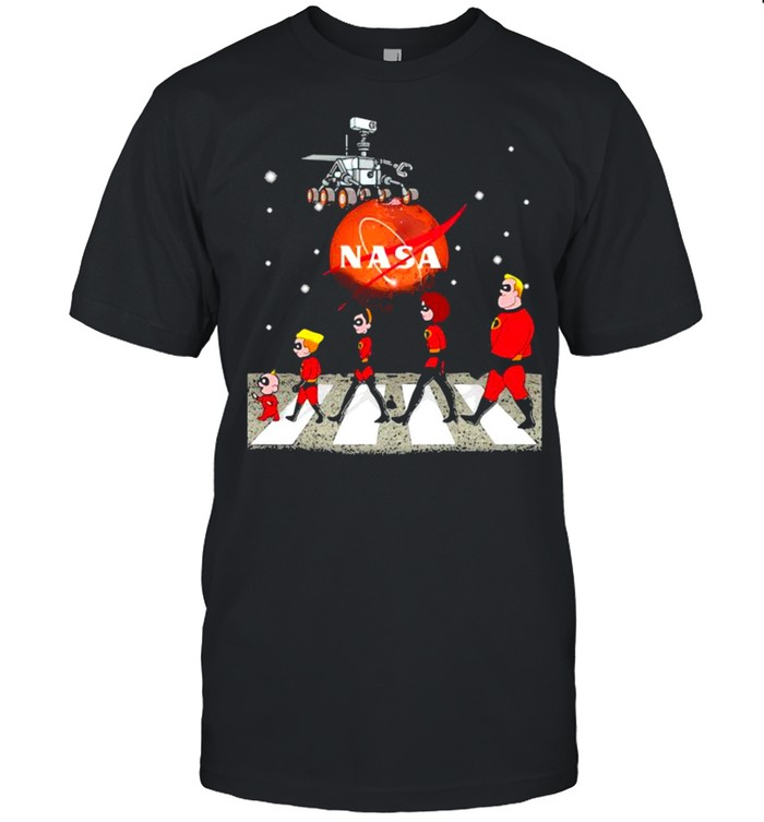 Perseverance Nasa The Beatles Mars shirt Classic Men's T-shirt
