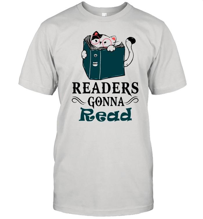 Readers Gonna Read Cat Book shirt Classic Men's T-shirt