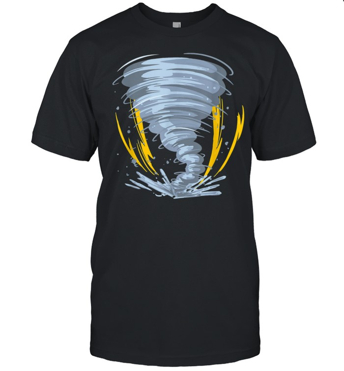 Great Tornado Storm Bolt Hurricane shirt Classic Men's T-shirt