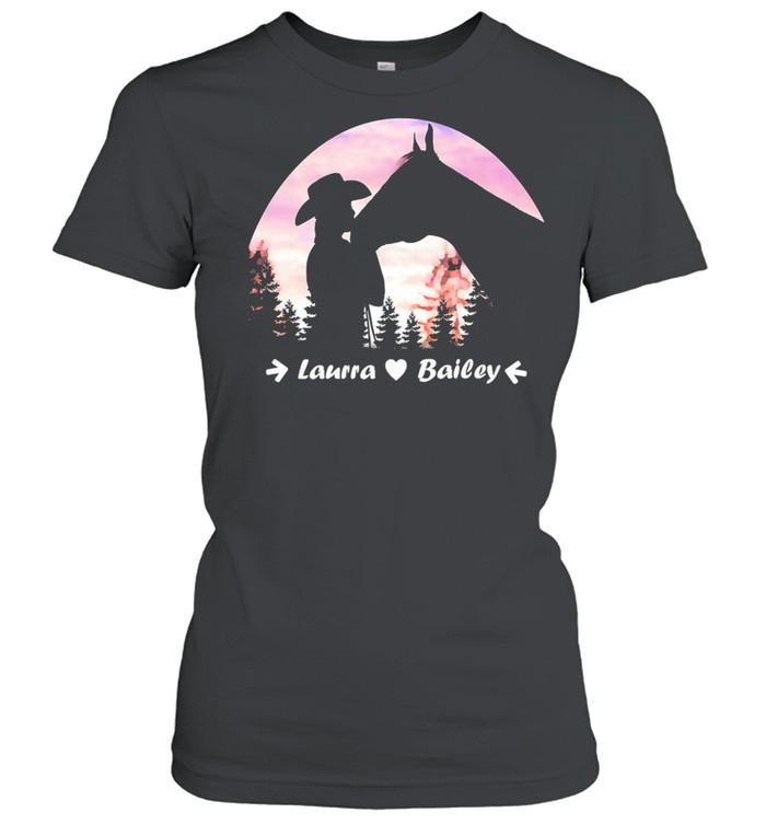 Laura Bailey shirt Classic Women's T-shirt