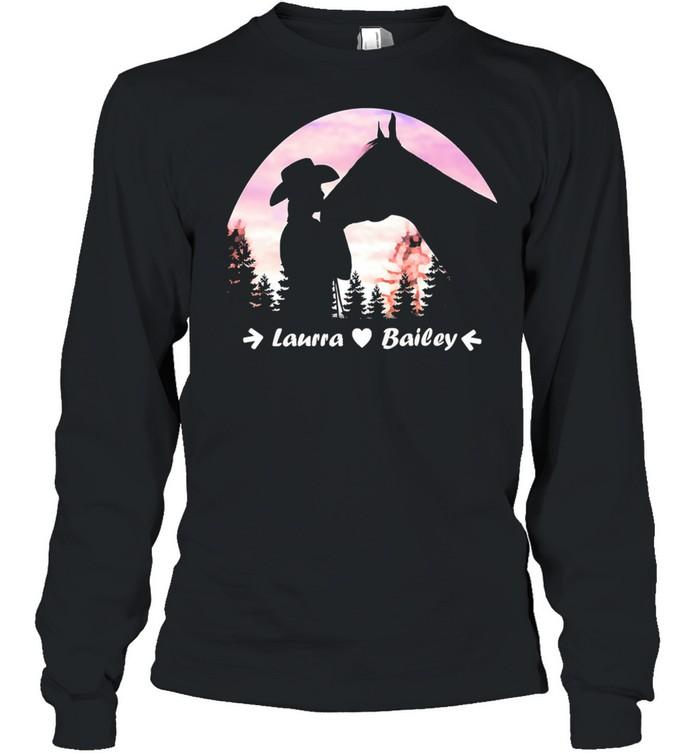 Laura Bailey shirt Long Sleeved T-shirt