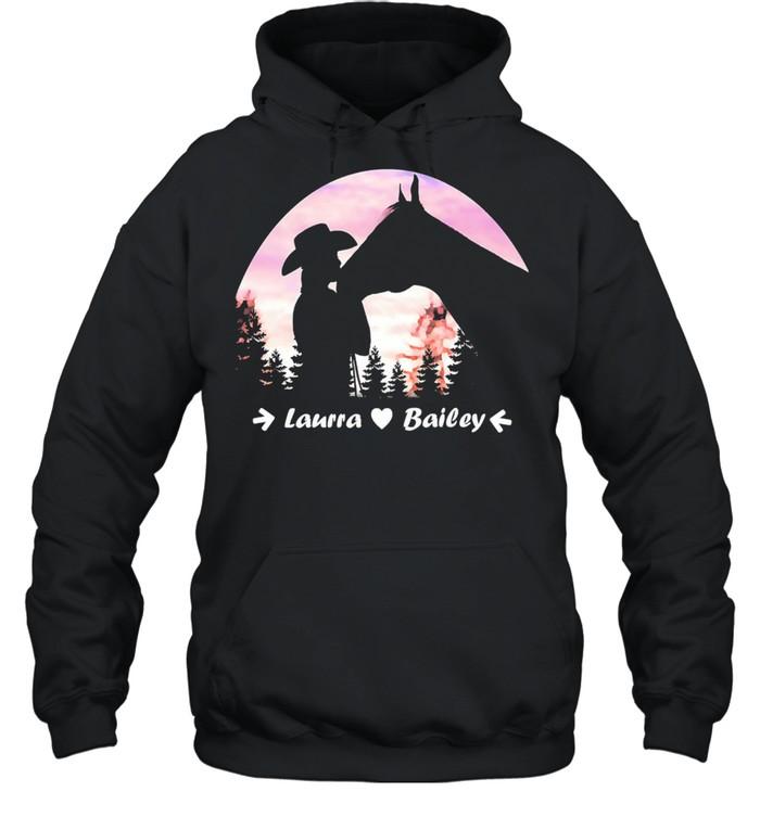 Laura Bailey shirt Unisex Hoodie