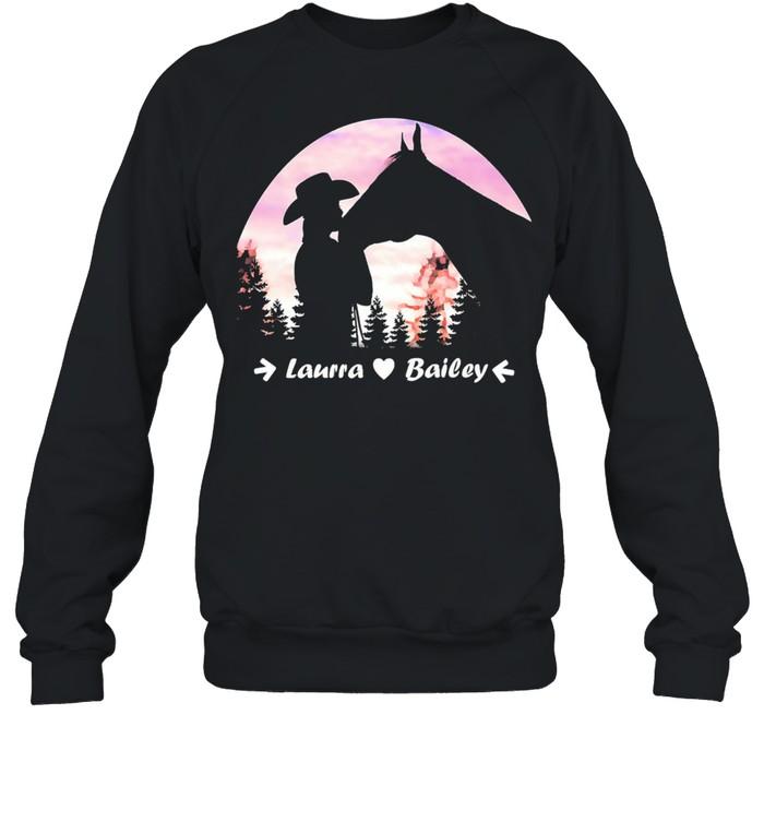 Laura Bailey shirt Unisex Sweatshirt