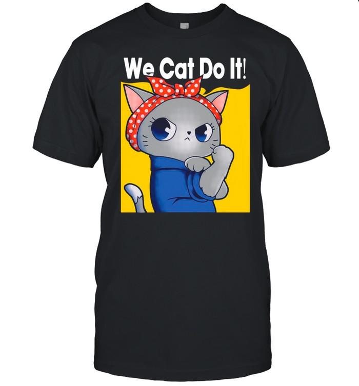 Strong Cat We Can Do It shirt Classic Men's T-shirt