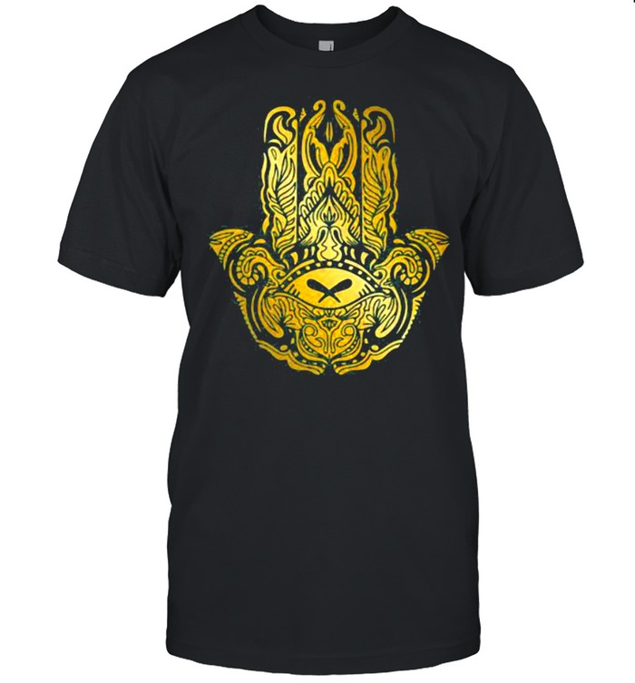 Symbol Golden Hamsa shirt Classic Men's T-shirt