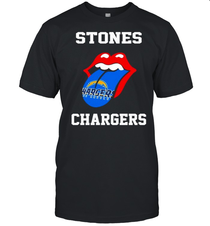 The Rolling Stones Los Angeles Chargers 2021 shirt Classic Men's T-shirt