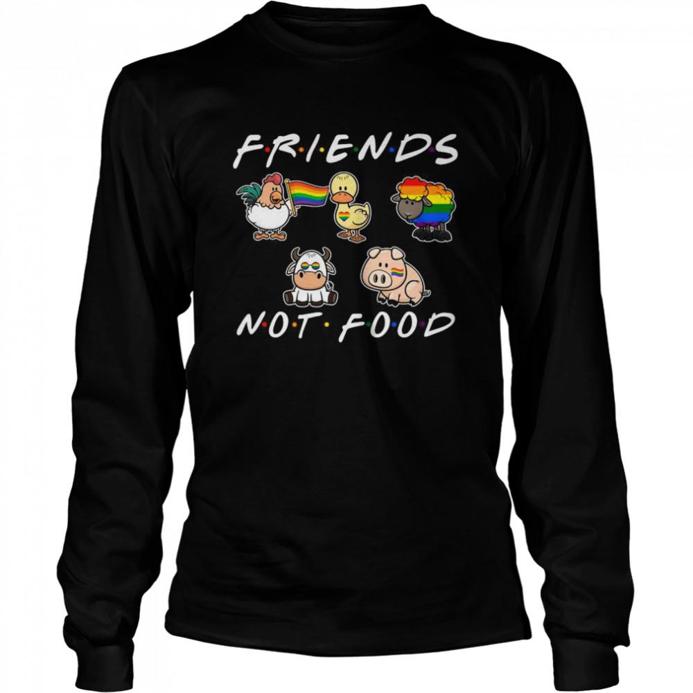 Art Not Food Animal Friends Tv Show shirt Long Sleeved T-shirt