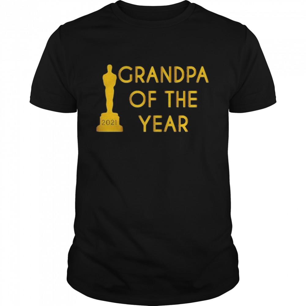 Grandpa of the Year 2021 shirt Classic Men's T-shirt
