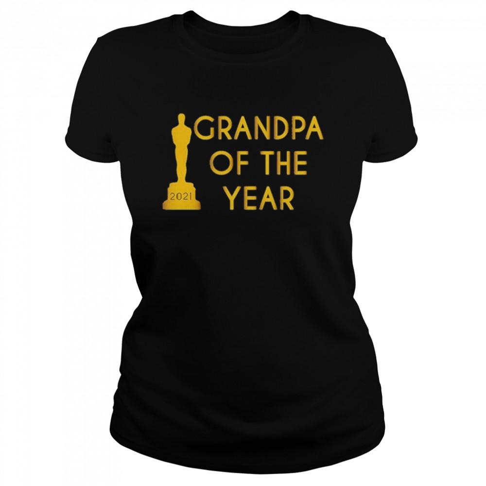 Grandpa of the Year 2021 shirt Classic Women's T-shirt