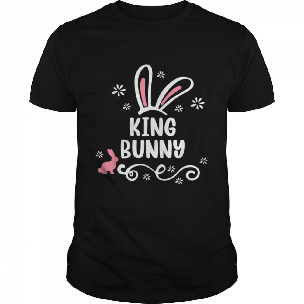 King Bunny Matching Easter Bunny Egg Hunting shirt Classic Men's T-shirt
