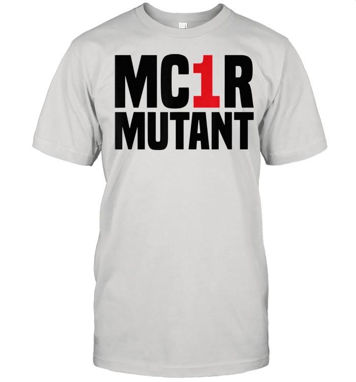 MC1R Mutant Ginger Red Hair Redhead shirt Classic Men's T-shirt