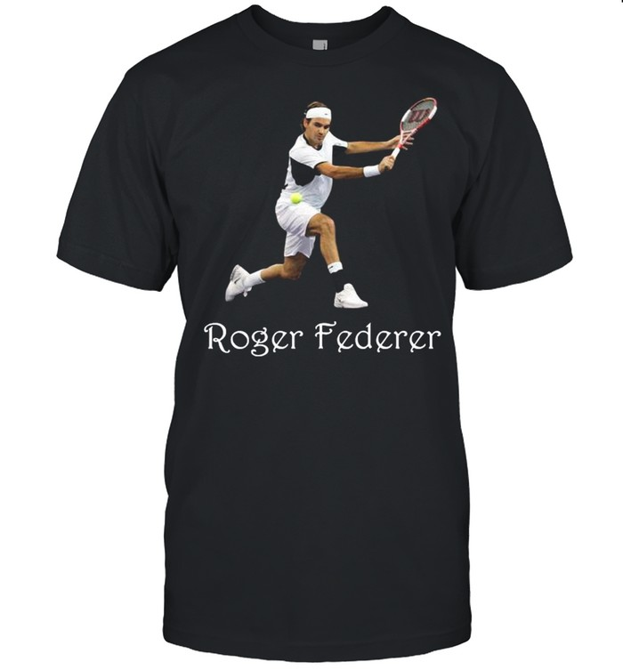 Roger Federer With Tennis Of The Worlds shirt Classic Men's T-shirt