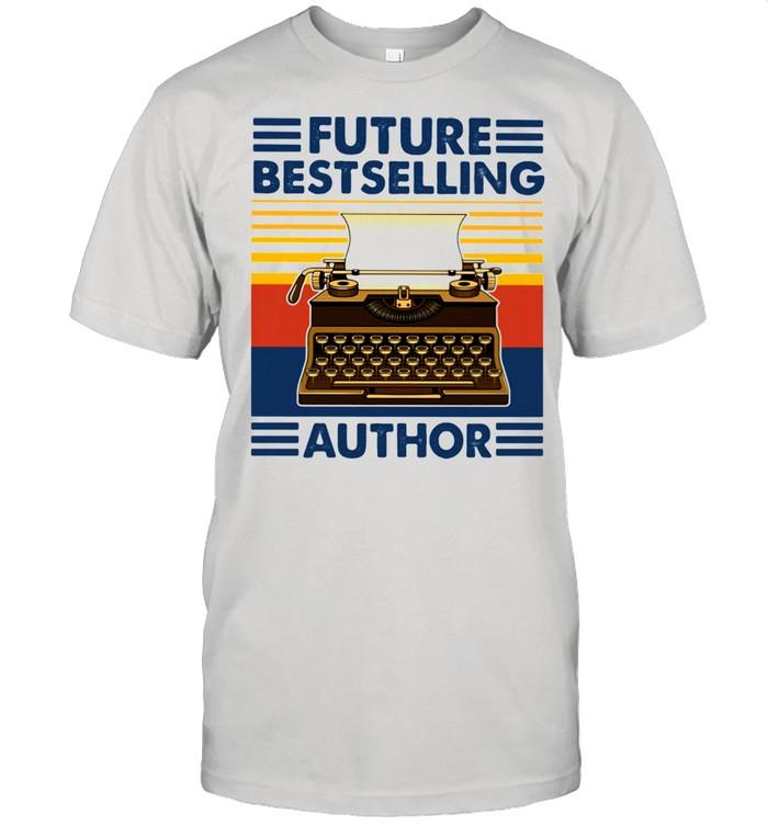 Future Bestselling Author Writer Novelist Vintage  Classic Men's T-shirt