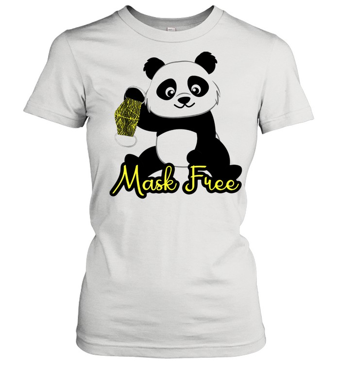 Mask Free Panda Bears shirt Classic Women's T-shirt