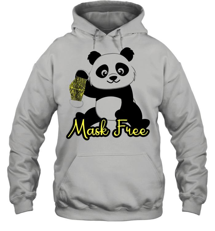 Mask Free Panda Bears shirt Unisex Hoodie