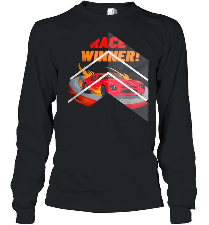 Race Winner, for cars shirt Long Sleeved T-shirt