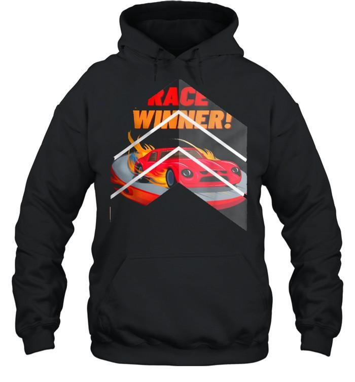 Race Winner, for cars shirt Unisex Hoodie