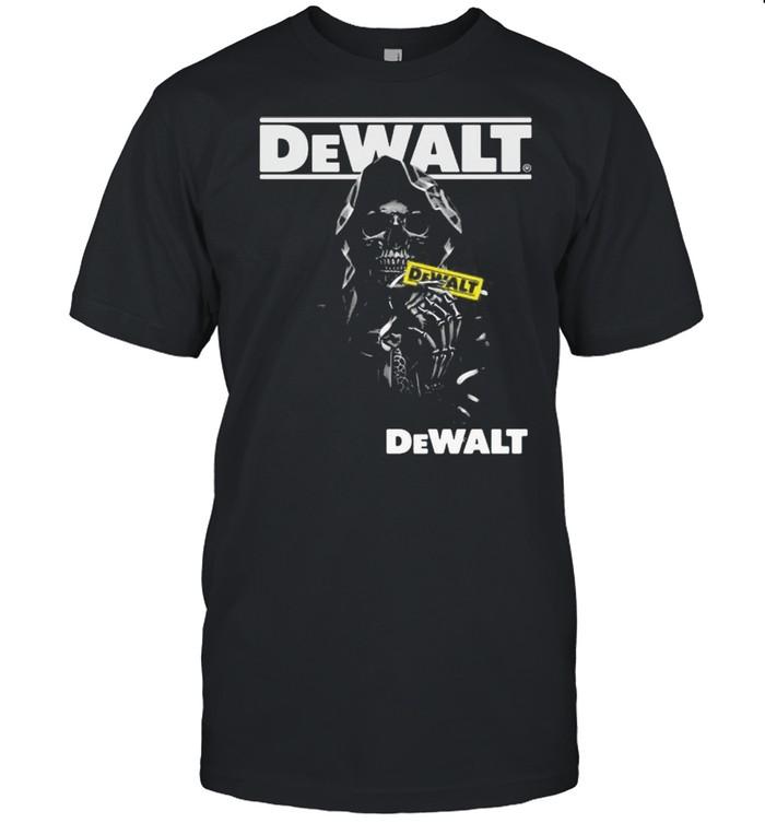 Skull With Logo Dewalt  Classic Men's T-shirt
