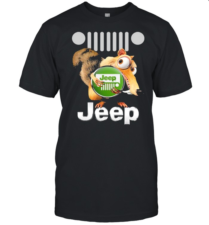 Squirrel Nuts With Logo Jeep  Classic Men's T-shirt