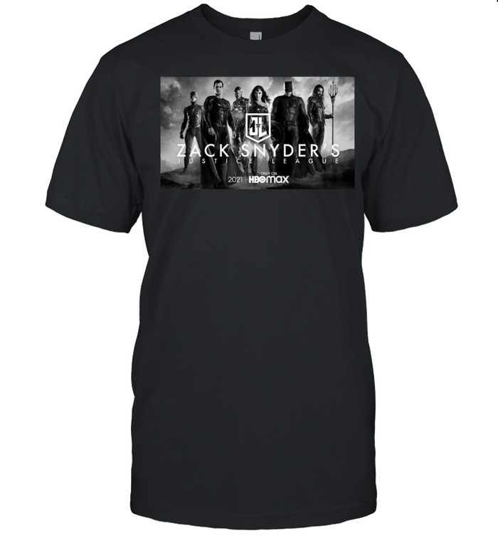 The Zack Snyder Justice League Poster 2021 HBO Movie shirt Classic Men's T-shirt