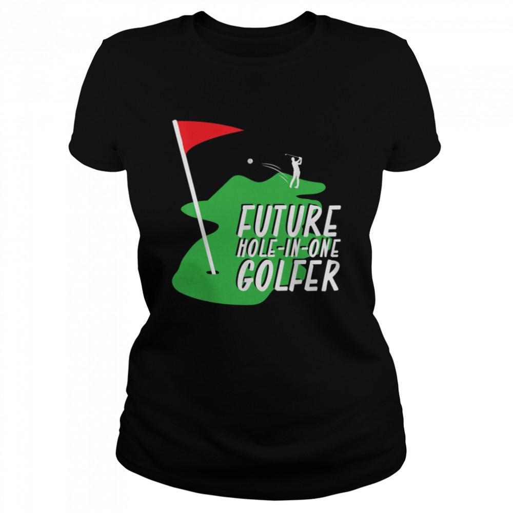 Golfer Golf shirt Classic Women's T-shirt