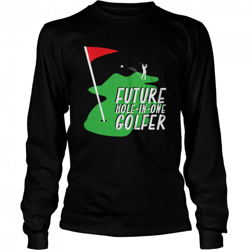 Golfer Golf shirt Long Sleeved T-shirt