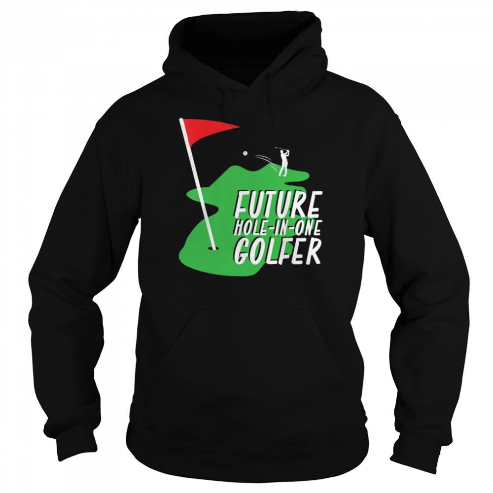 Golfer Golf shirt Unisex Hoodie