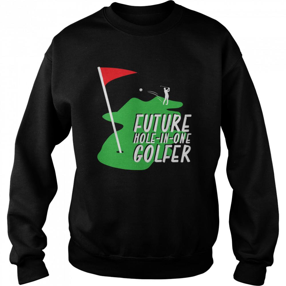 Golfer Golf shirt Unisex Sweatshirt